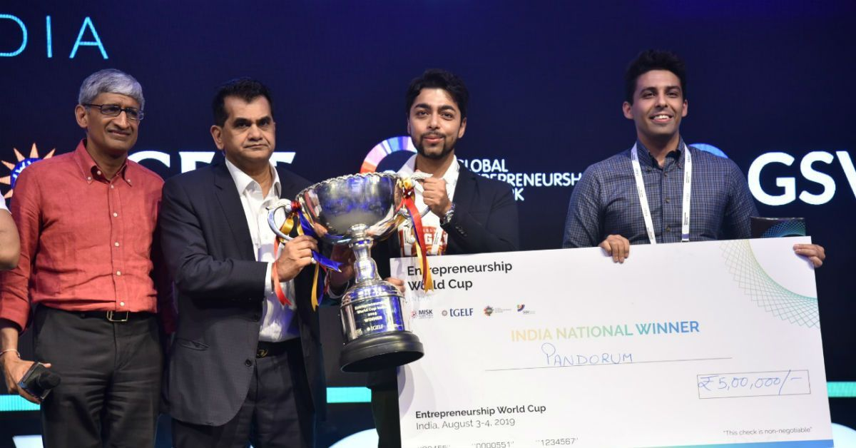 These Three Startups Will Represent India At The Entrepreneurship World Cup