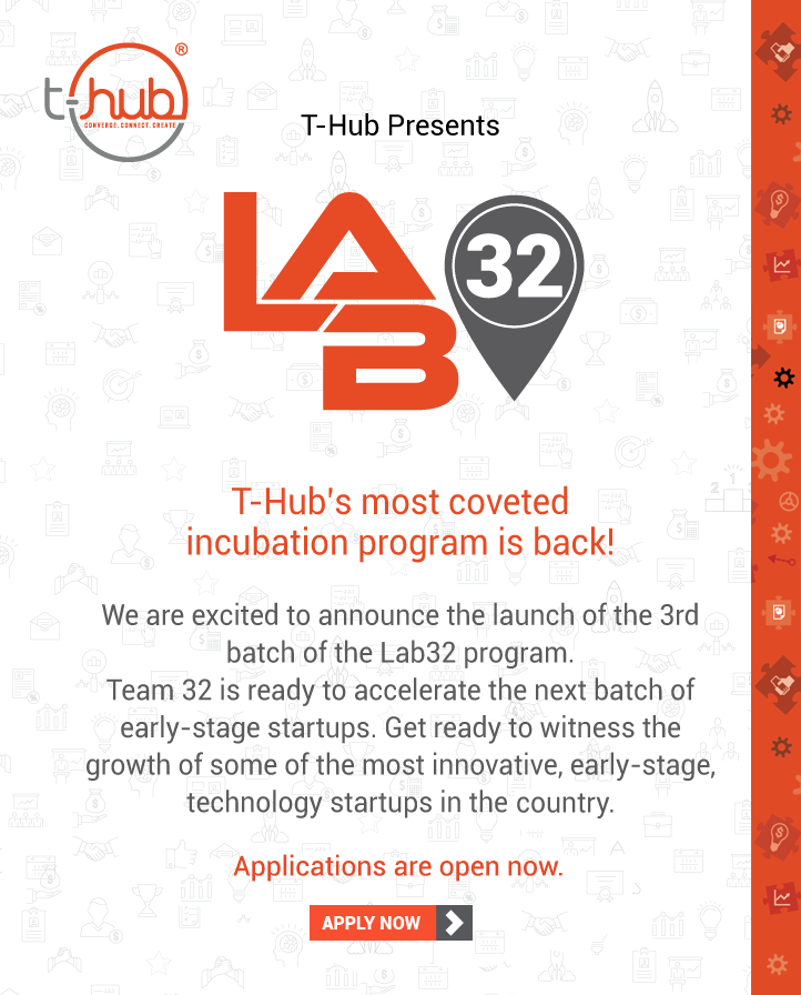 T-Hub Announces the Success of Five Startups from its Incubation Program Lab32 on World Entrepreneurs' Day