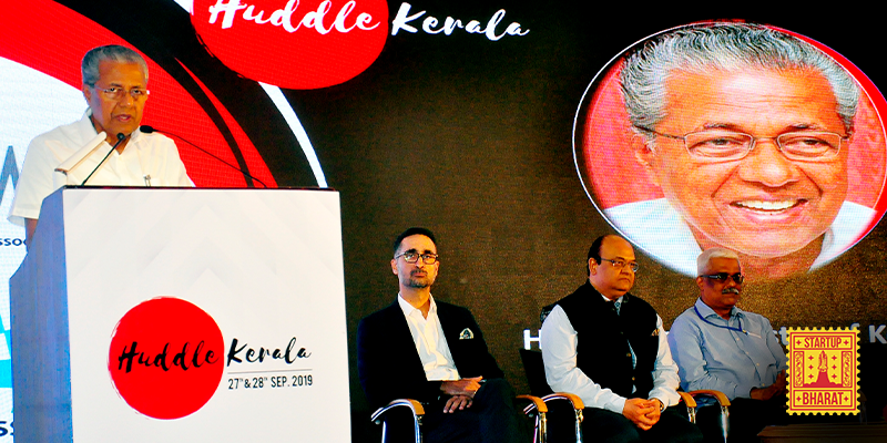 [Startup Bharat] Kerala CM woos startups from across the globe to make God's Own Country their base