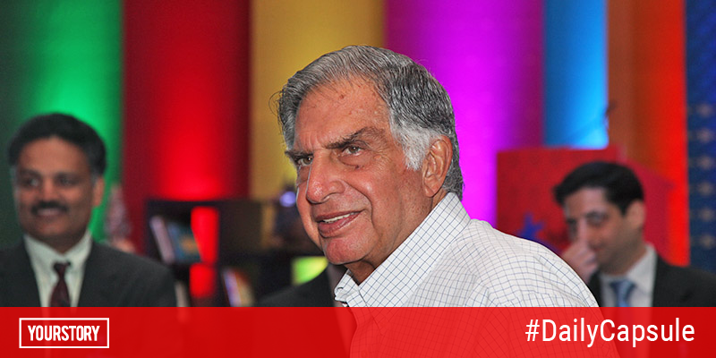 Ratan Tata puts startup pitch deck template on Instagram (and other top stories of the day)