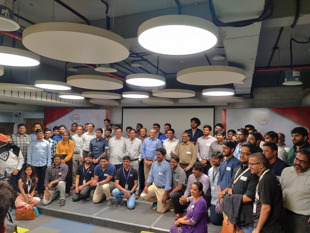 Group photo of the launch event