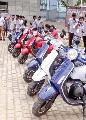 Startup incubated at IIT-Hyderabad launches high-speed electric scooter