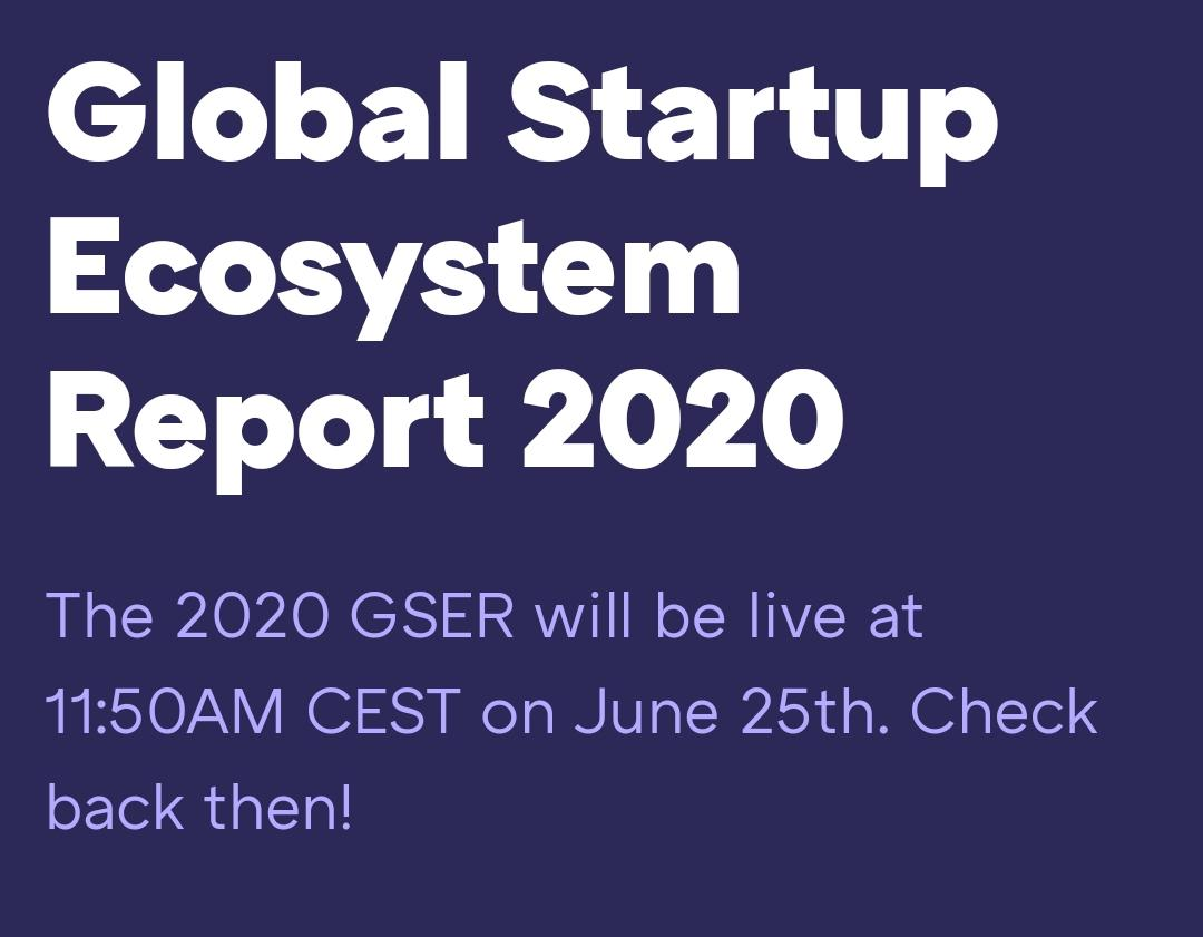 T-Hub and Startup Genome Launch the 2020 Global Startup Ecosystem Report (GSER)