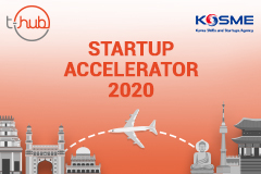 T-Hub, in partnership with KOSME, Selects 10 Startups for its 'Startup Accelerator 2020' Market Access Program