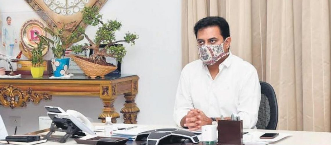Ample opportunities for pharma, life sciences sectors in Telangana: KTR_5f22c2a488412.jpeg